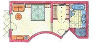 Doppelzimmer Schlafmütze Plan