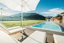 Neuer 25m Sport Pool imTHERESA Wellness Genießer Hotel ****superior im Zillertal, Tirol
