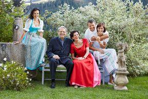 Gastgeberfamilie Egger vom THERESA Wellness Genießer Hotel ****superior im Zillertal, Tirol
