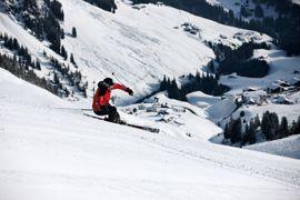 nur 50 Schritte mitten ins Ski Arlberg Gebiet