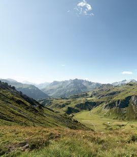 Warth Schröcken am Arlberg im Sommer