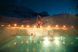 Swimmingpool im Wellnesshotel Warther Hof