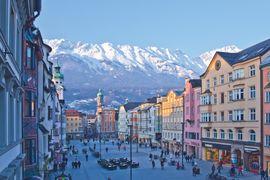 Innsbruck Fußgängerzone Maria-Theresien-Straße