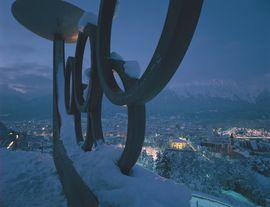 Innsbruck Bergisel Olympische Ringe