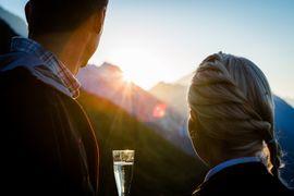 Aktivprogramm Sonnenaufgangswanderung im Alpenresort Schwarz