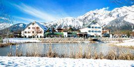 Alpenresort Schwarz im Winter
