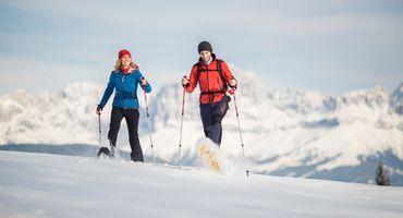 Settimane Invernali con escursioni sulle Dolomiti