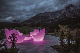 Lichtstimmung Hochkönigs Sonnengarten - Übergossene Alm Resort