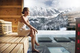 Hochkönig-Sauna im Hotel Übergossene Alm
