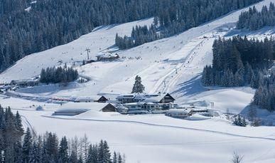 Winterwunderland am Hotel Übergossene Alm