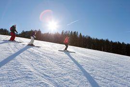 Skischool at the hotel Übergossene Alm