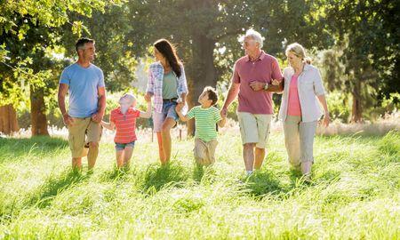 Vacanze con 3 generazioni