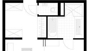 Grundriss JS Elegance - Zimmer 501 5/5