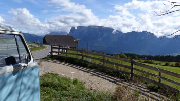 Tour panoramico con il VW Bulli