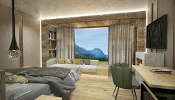 """Alpinjuwel"" room"