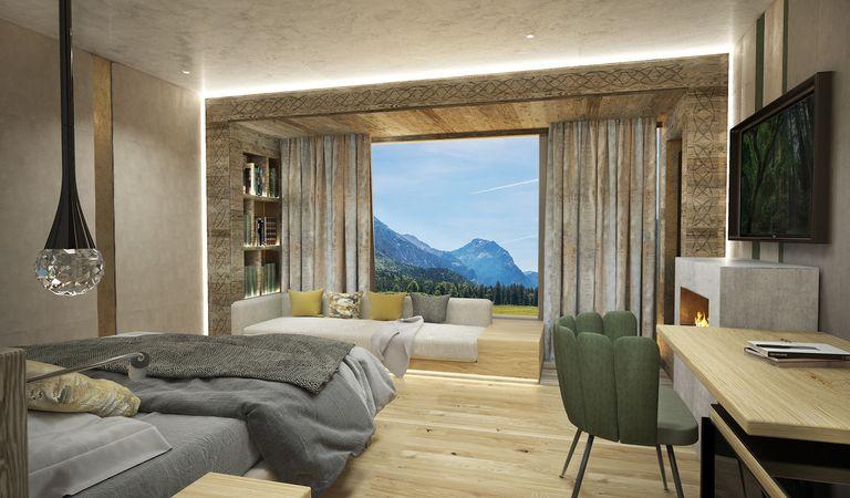 Alpinjuwel-Zimmer