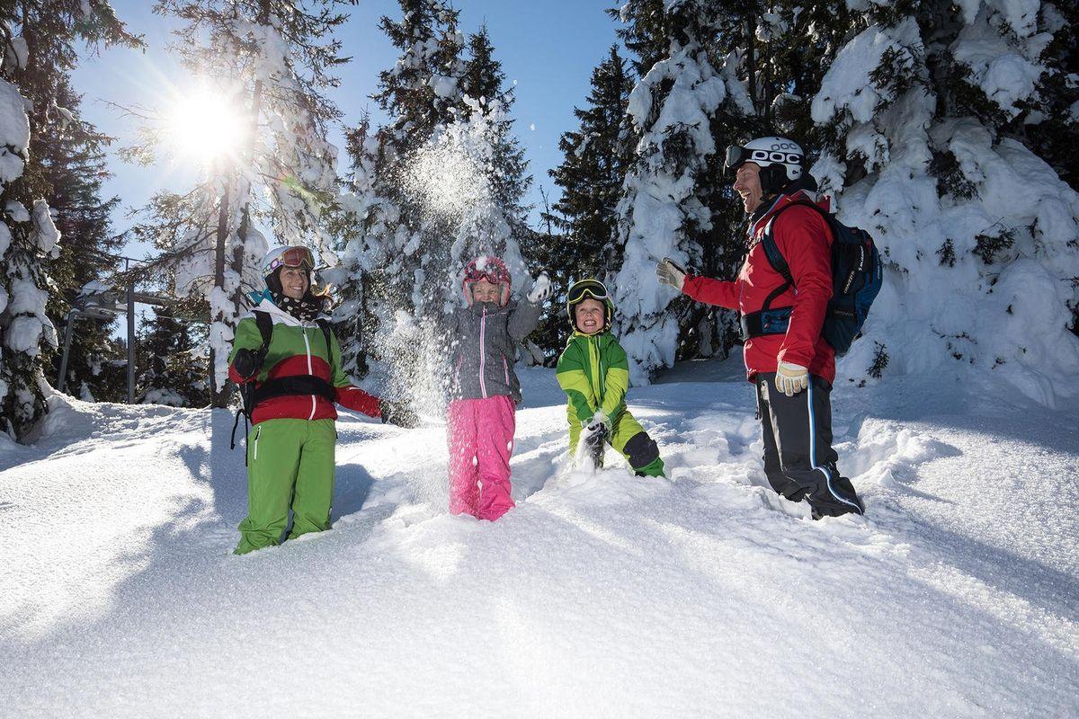 Family Fun im Schnee