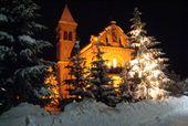 Natale romantico in montagna
