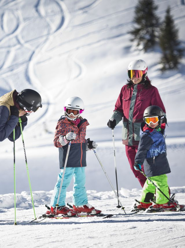 Familien-Skispaß