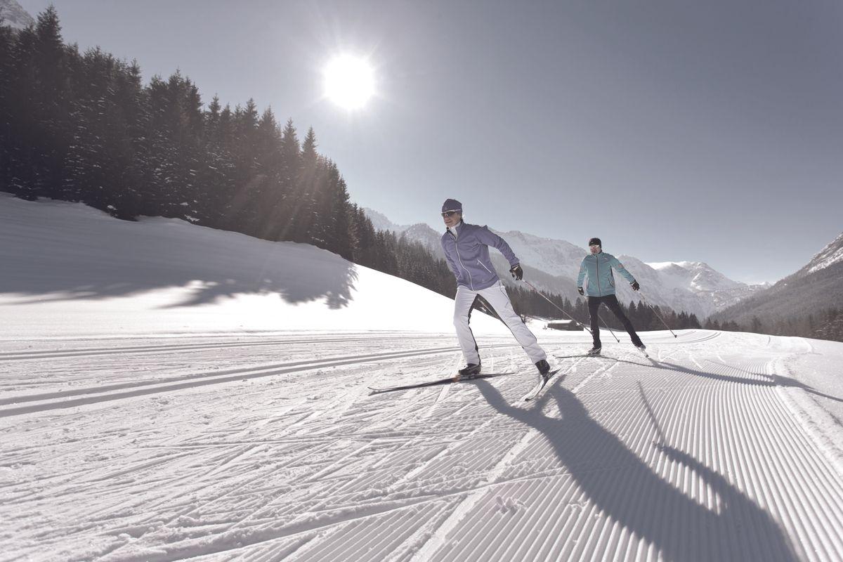 Langlauf- und Biathlontraining
