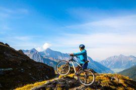 Mountainbiken in St. Johann im Ahrntal