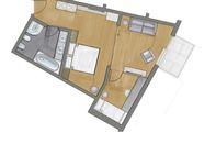 Suite Patrizia Süd deluxe  | Stammhaus floor plan