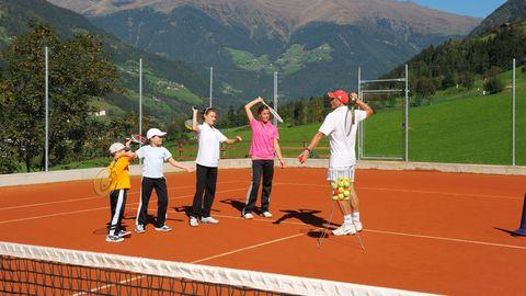 Tennis-Einzelstunde