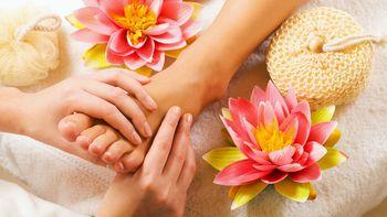 Massage des pieds - Réflexologie
