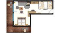 Achensee Suite - Skizze