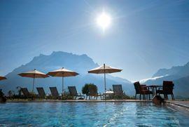 Aussenpool im Hotel Post****Superior Lermoos, Tirol