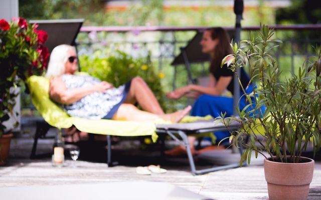 BIO HOTEL Alpenrose: Terrasse