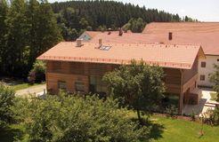 BIO HOTEL AmVieh-Theater: Hotelgelände - AmVieh-Theater, Schwindegg, Bayern, Deutschland