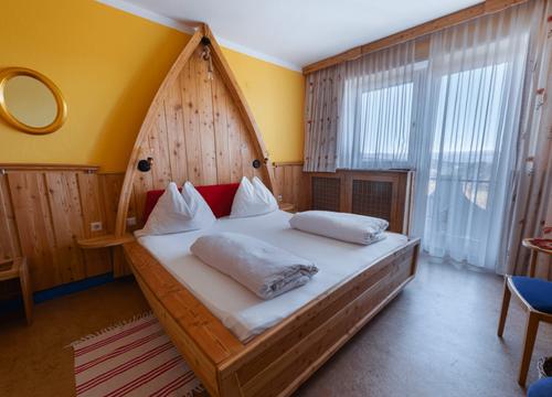Comfort room panorama view (1/4) - Biolandhaus Arche