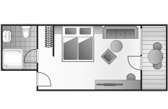 "Doppelzimmer ""Margarite"" (2/7) - Das Naturhotel Chesa Valisa"