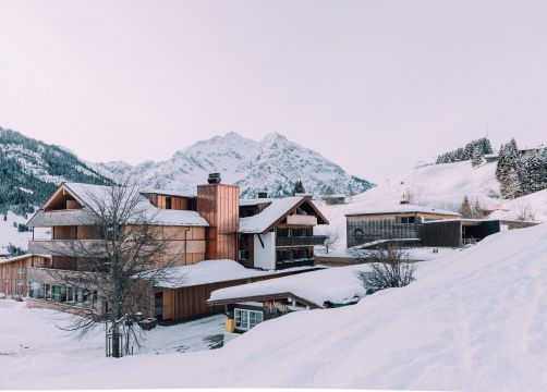 Biohotel Chesa Valisa: Auch im Winter eine Reise wert - Das Naturhotel Chesa Valisa, Hirschegg/Kleinwalsertal, Vorarlberg, Österreich