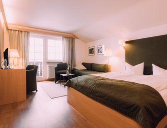 "Doppelzimmer ""Margarite"" - Das Naturhotel Chesa Valisa"