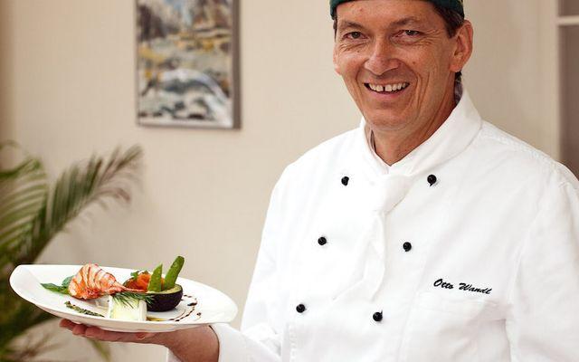 Küchenmeister Otto Wandl