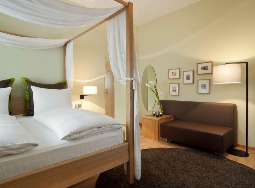 Biohotel Villa Orange: Deluxe-Zimmer - Hotel Villa Orange, Frankfurt, Hessen, Deutschland