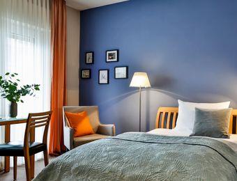 "The ""Orange"" single rooms - Hotel Villa Orange"