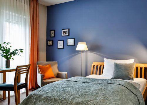 "The ""Orange"" single rooms (1/2) - Hotel Villa Orange"