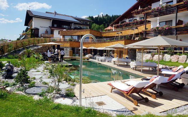 Biohotel Eggensberger: Garten-SPA mit Natur-Pool