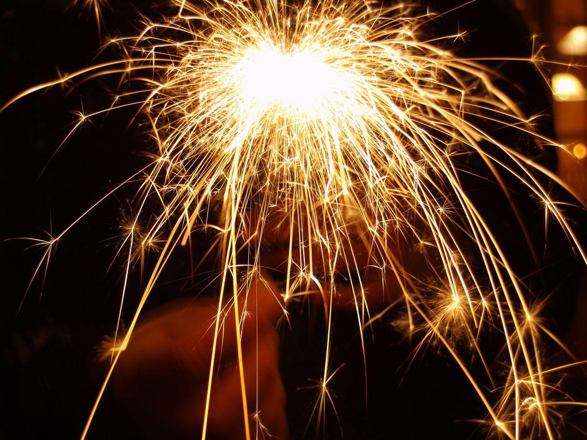 Colourful New Year Celebration