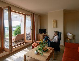Roof-top garden suite - Bio-Thermalhotel Falkenhof