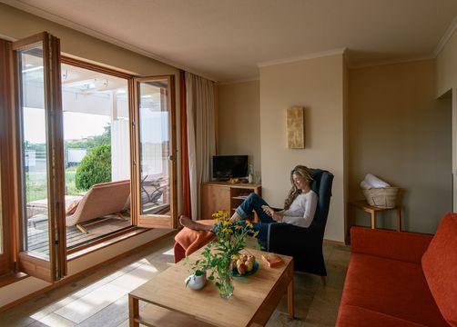Roof-top garden suite (1/4) - Bio-Thermalhotel Falkenhof