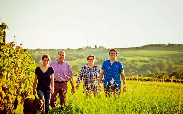 Weingut & Biohotel Gänz: Familie Gänz
