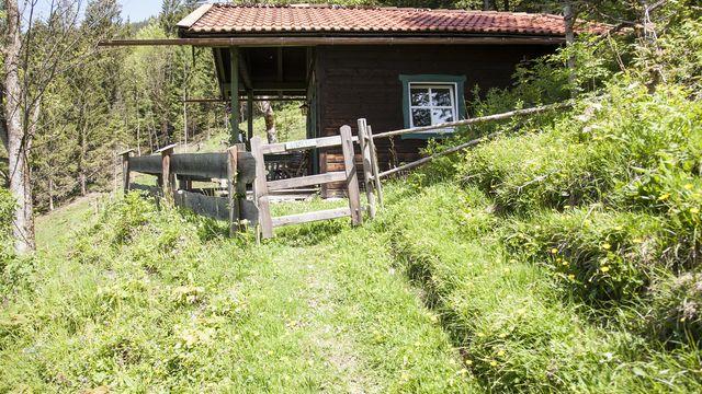 Lufthütte - Obere Rehhütte