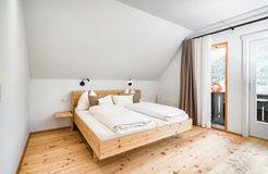Biohotel Gralhof: Familienzimmer mit Seeblick - Biohotel Gralhof, Weissensee, Kärnten, Österreich