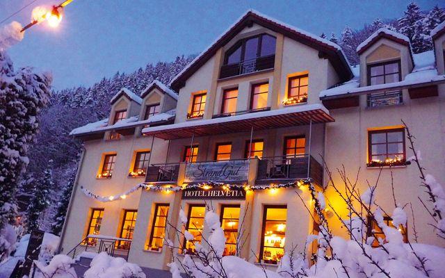 Biohotel Helvetia im Winter