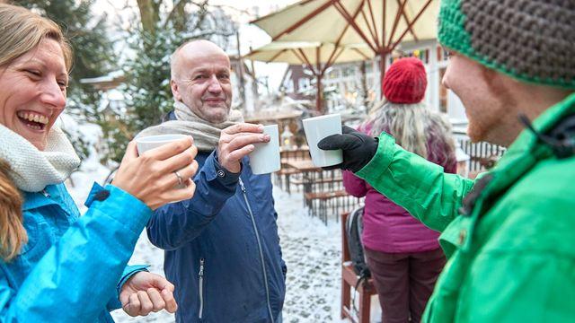 Für Weekender - Winterdorf in der Ferienwohnung