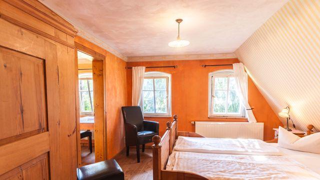 Apartment im Forsthaus für 2-4 Personen